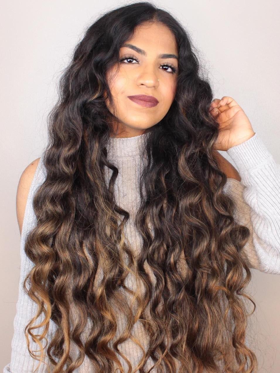 Long Wavy Hair Idea