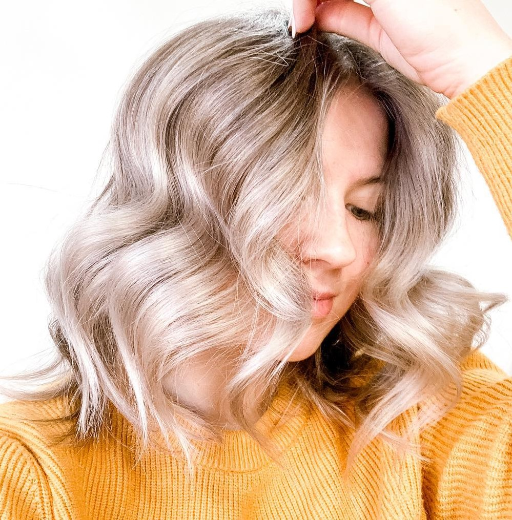 Beach Waves with a Brush Styler