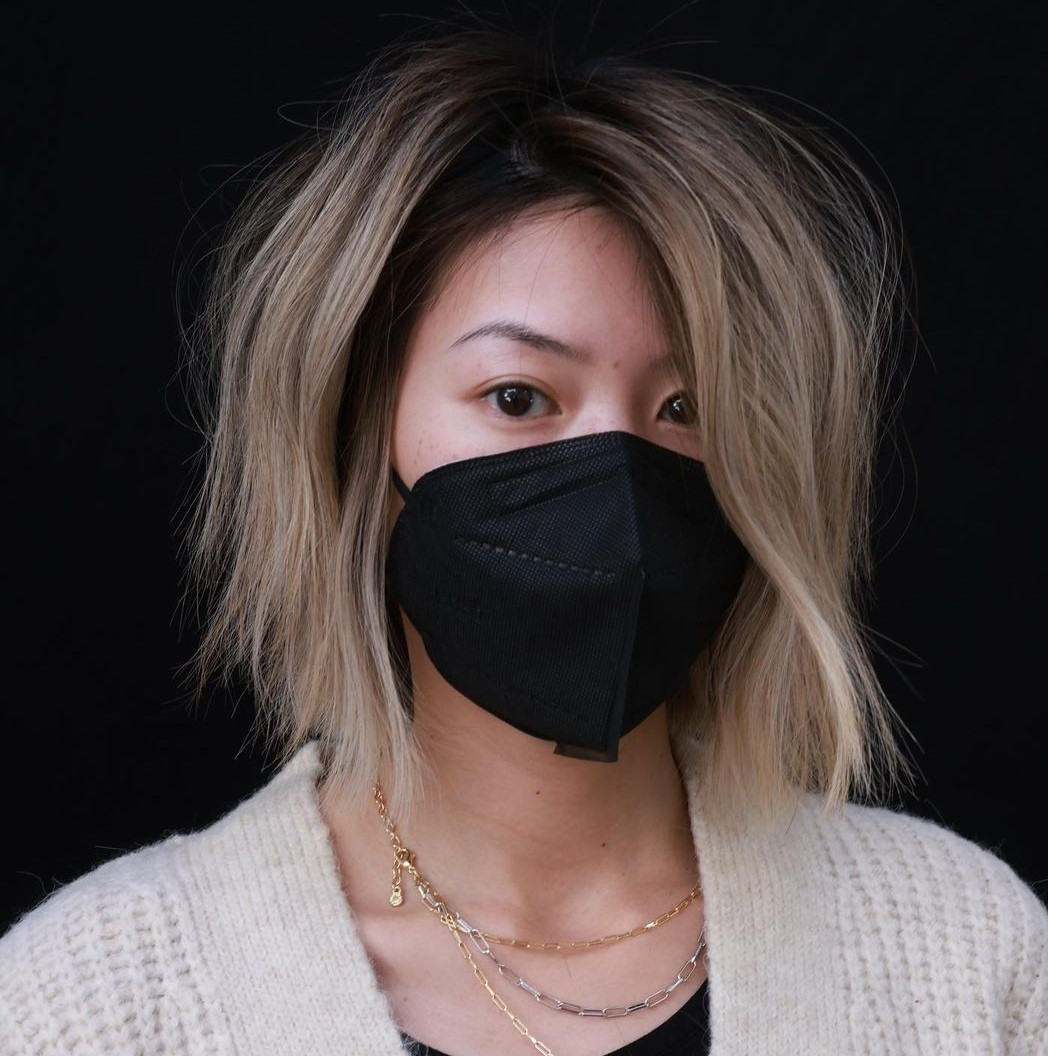 Trendy Asian Bob with Shaggy Layers