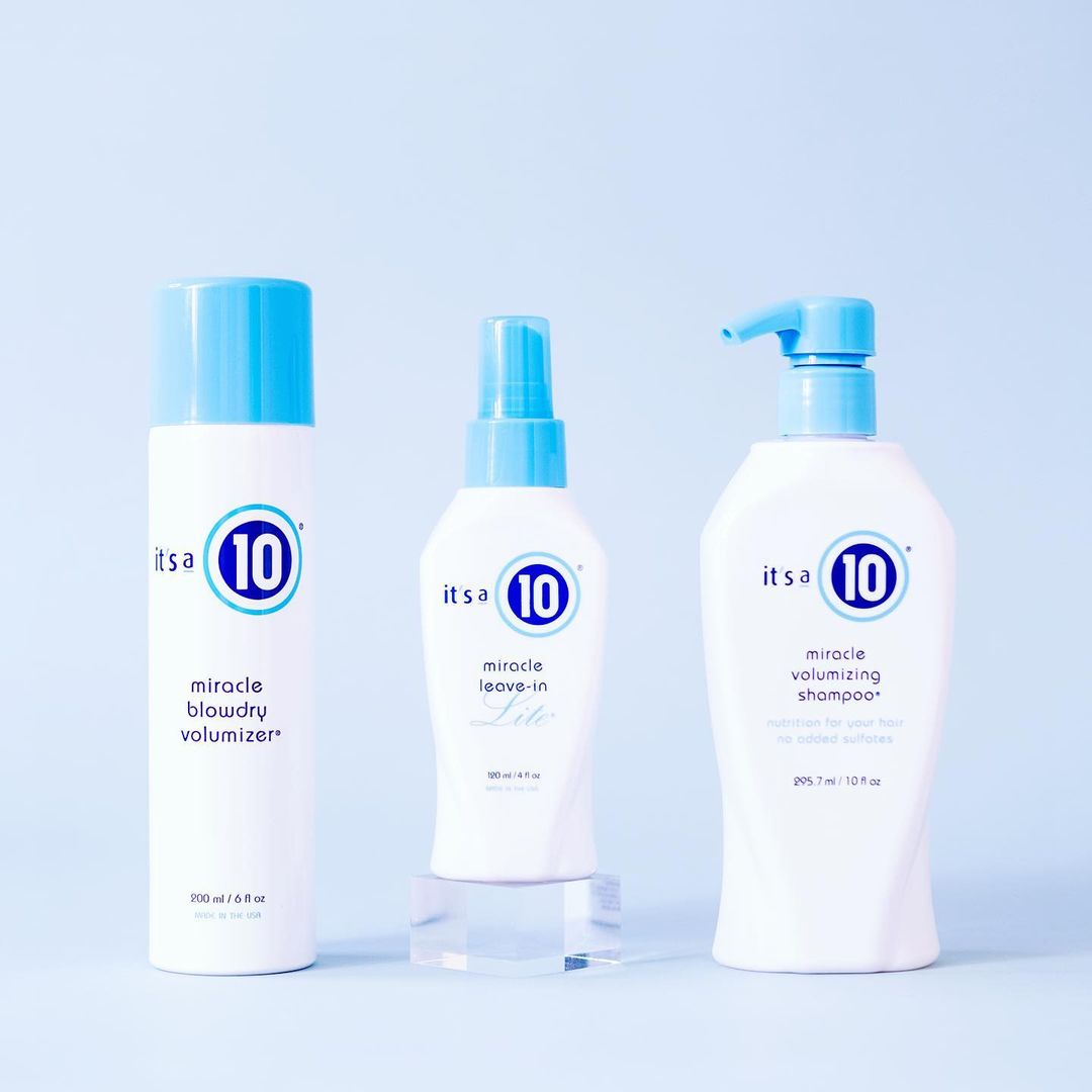 Volume-Boosting Shampoos for Flat Fine and Thin Hair
