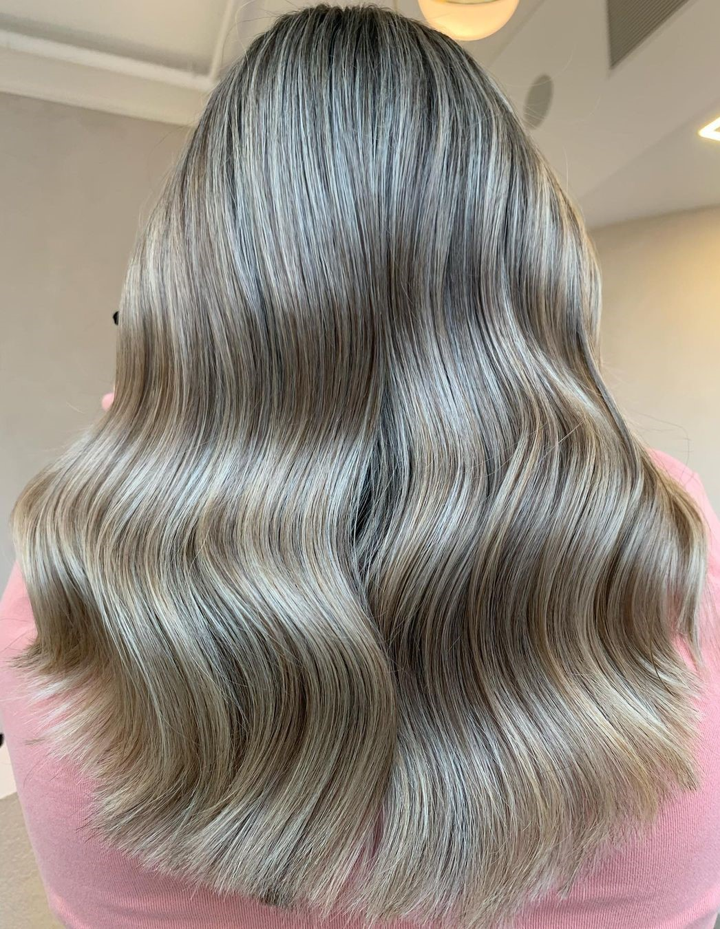 Champagne Blonde Highlights