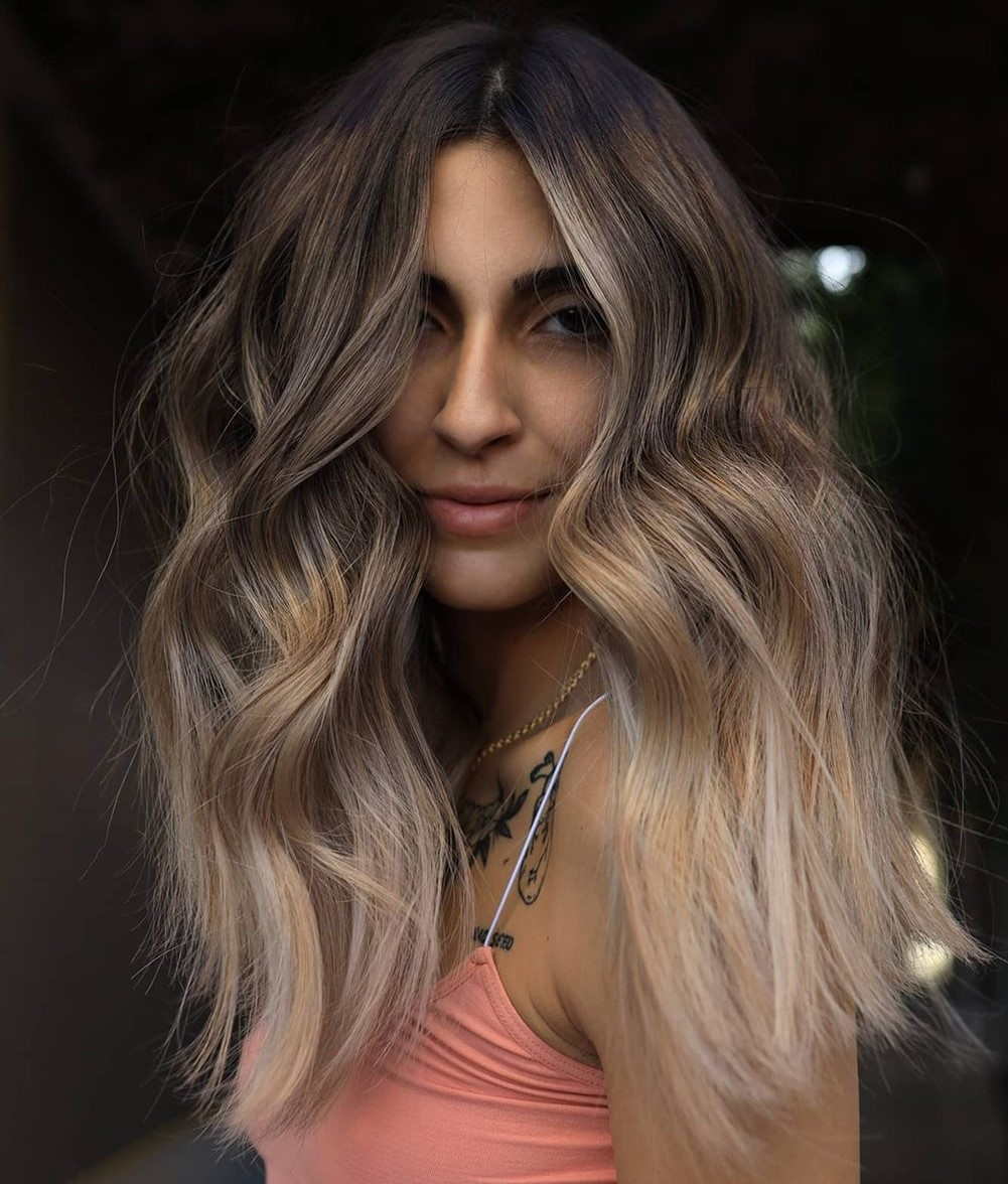 Mushroom Highlights and Bronde Sombre