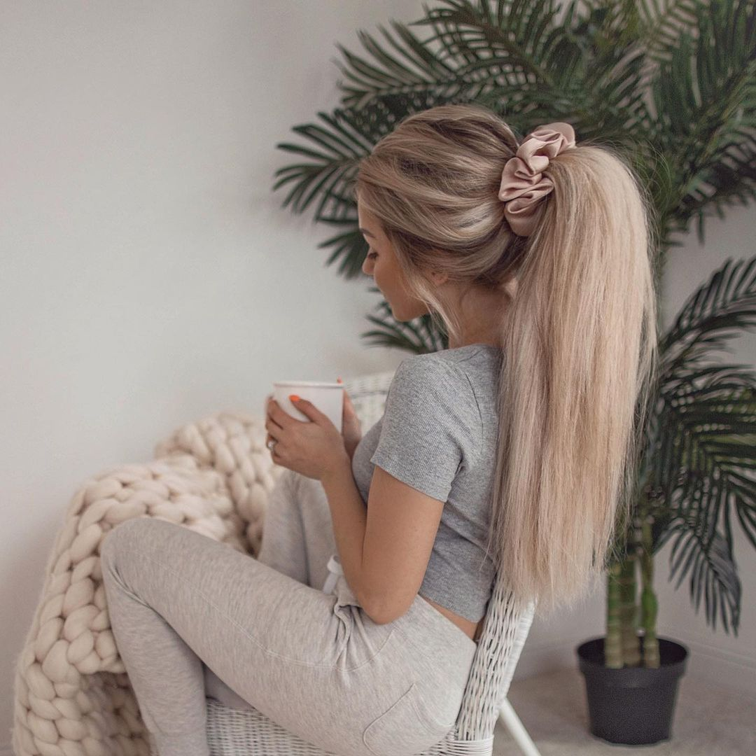 Ponytails for Sleeping with Long Hair