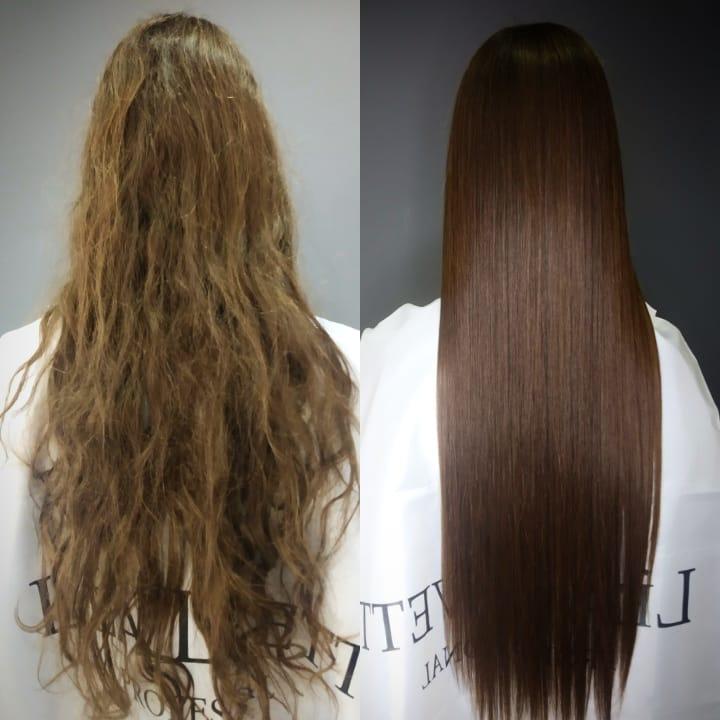 Botox Salon Hair Treatment for Damaged Hair
