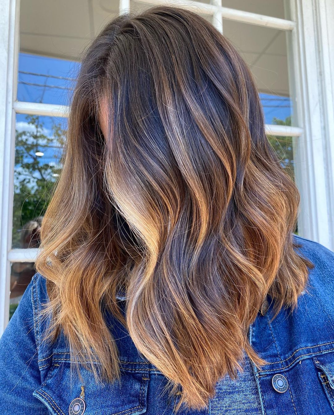 Lively Partial Blonde Highlights