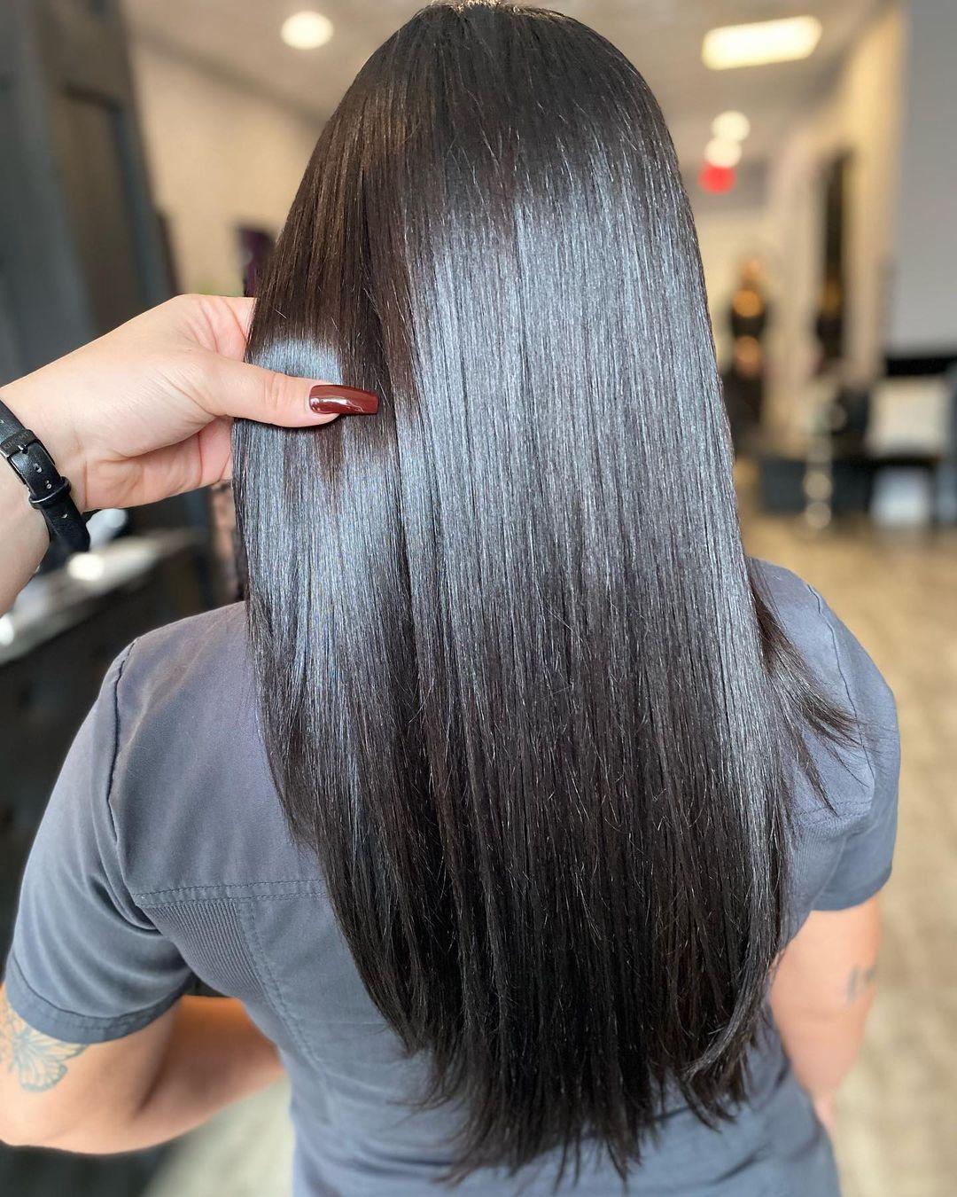 Best Salon Hair Treatments for Shiny Glossy Hair Glazing