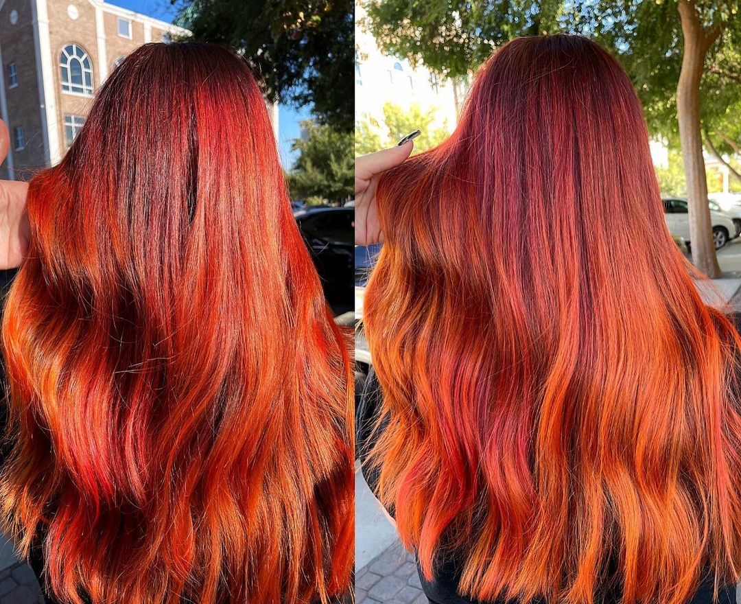 How to Make Red Hair Shiny