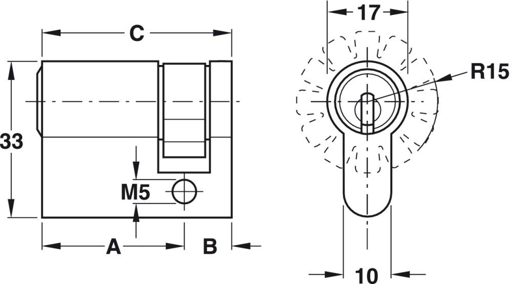 medium resolution of reversible key locking system