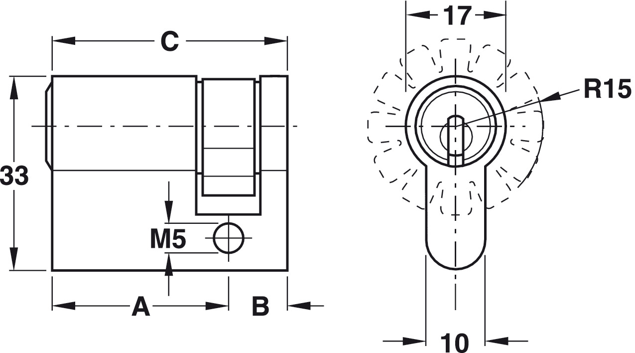 hight resolution of reversible key locking system