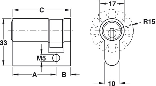 small resolution of reversible key locking system
