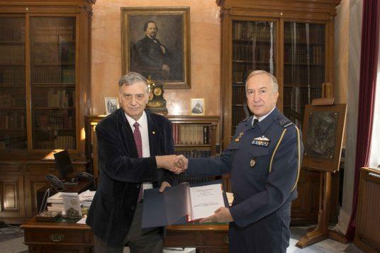 Συμφωνία Συνεργασίας της Ακαδημίας Αθηνών και του ΓΕΑ για την Παραχώρηση του Πληροφορικού Συστήματος Ηλεκτρονικής Διαχείρισης Εγγράφων «ΙΡΙΔΑ»