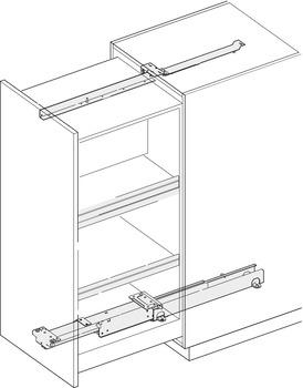 EKU Forte 170/340 Top/Bottom Mounted Cabinet Slide