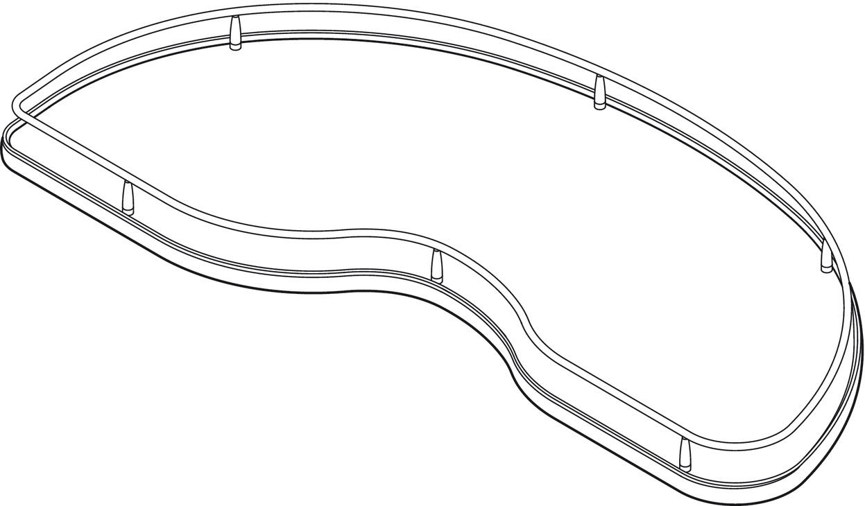 Slide Corner, Blind Corner Solution With Polished Chrome