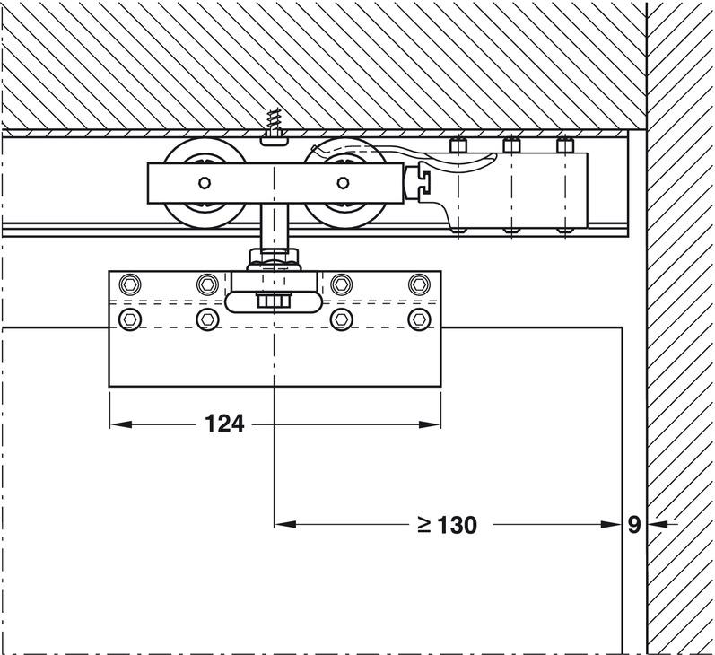Sliding Door Hardware, for Sliding Glass Interior Doors