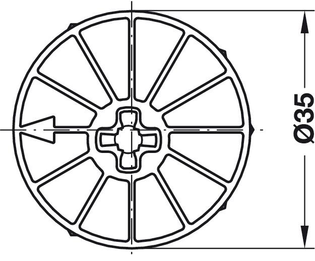 Système de ferrures d'assemblage, système Maxifix