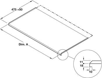 Kitchen Base Sink Unit Liner Protector Drawer Liner