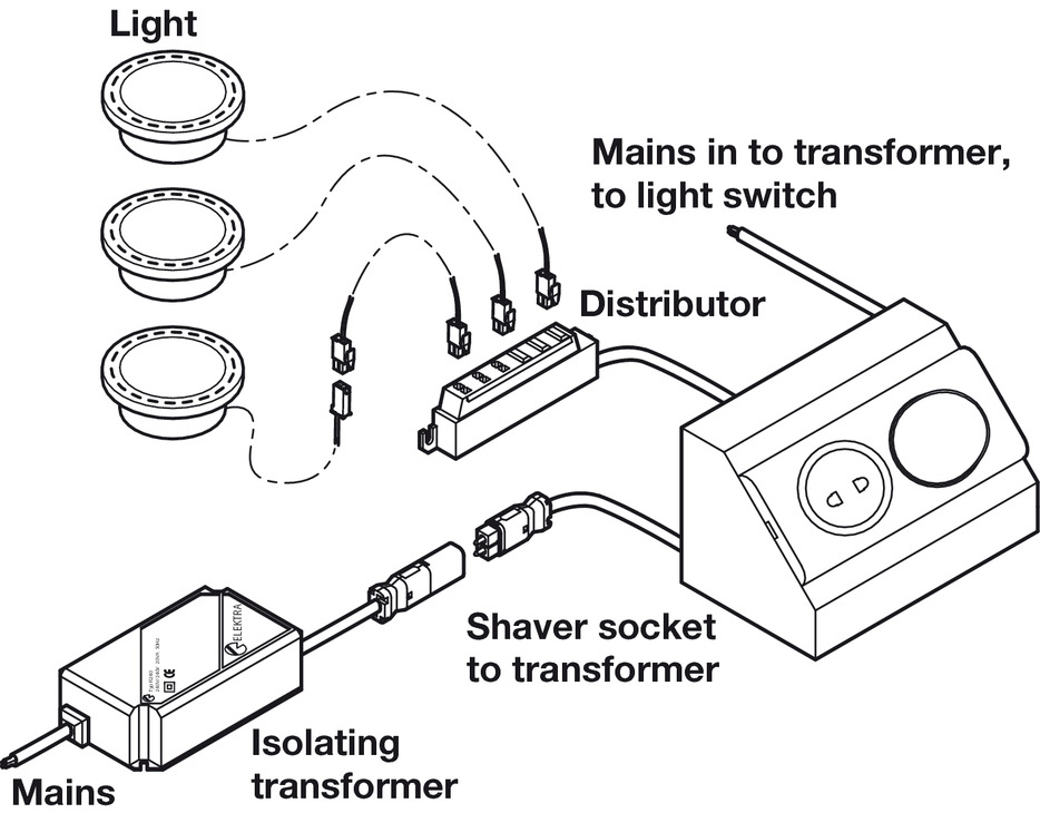 Shaver Socket Wiring Diagram : 28 Wiring Diagram Images