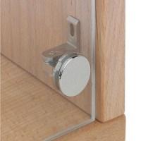 Glass door hinge, Claronda, glass drilling required