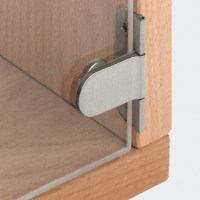 Glass door hinge - in the Hfele Australia Shop