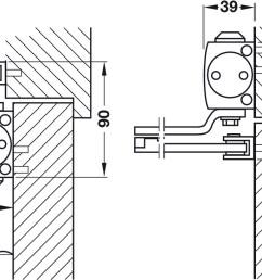 standard installation on pull side [ 1274 x 730 Pixel ]