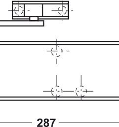 standard installation on pull side [ 1417 x 592 Pixel ]