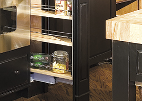 kitchen cabinet spice rack counter shelf innovative pantry organization and storage solutions