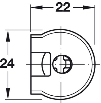 Connector Housing, Rafix 20 System, without Ridge, Plastic
