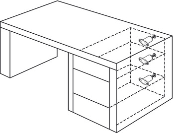 drawer latch flexi touch