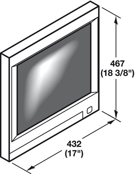 monitor suspension system for