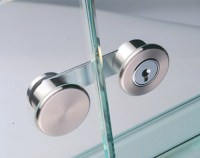 Glass Door Cam Lock, for Double Doors - in the Hfele ...