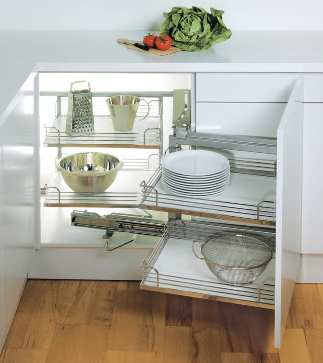 Magic Corner I for Blind Corner Cabinets  in the Hfele