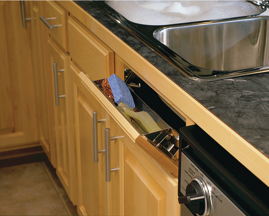 tip out tray stainless steel in the