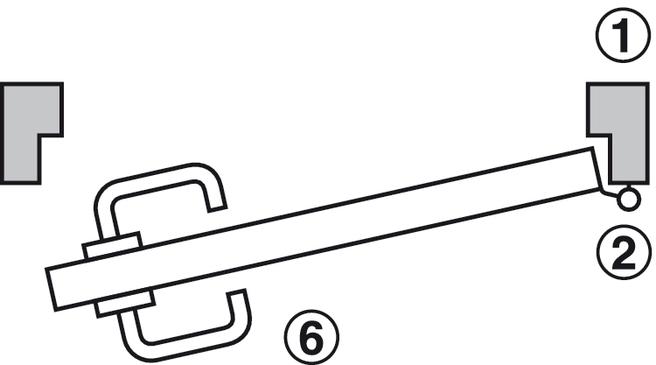 set de terminal de puerta,Dialock DT 100, R3, Para puertas