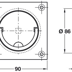 Squash Court Diagram Vdo Tachometer Wiring Diagrams Handle To Operate 90 X Mm Brass Hafele Ireland Shop Image May Show A Similar Article Please Check Product Details