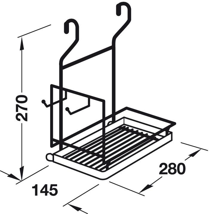 Supporto per mixer,Sistema di ringhiere in acciaio