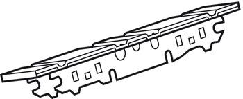 Frontbevestiging, voor Aventos HK (Tip-On, Servo-Drive
