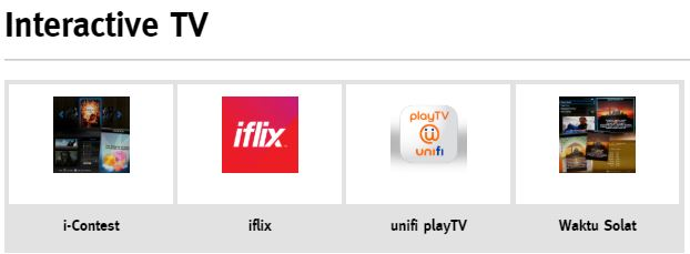 Unifi TV iFlix