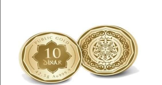 Dinar Baru Public Gold