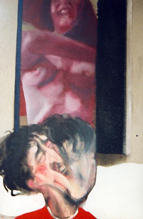 Autorretrato. Óleo sobre lienzo, 100x80. 1994.