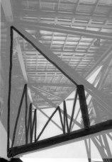 Torre del Guggenheim. Dibujo sobre fotografía, 15x10. 1998.