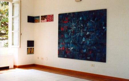 Exposición en Sanz Enea, Zarautz, 1997.