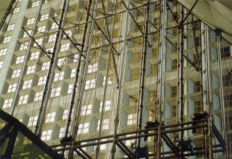 Arco de La Defense. Fotografía, 10x15. 1998.