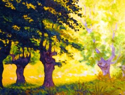Altube. Óleo sobre lienzo, 50x50. 1990.
