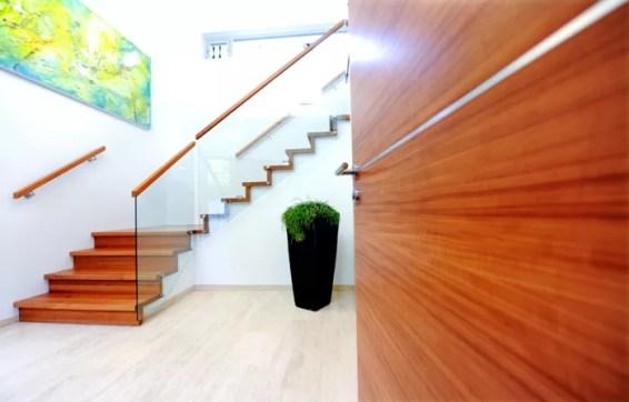 Foldetrapp med glass-2534
