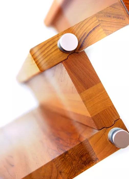 Foldetrapp med glass-2532