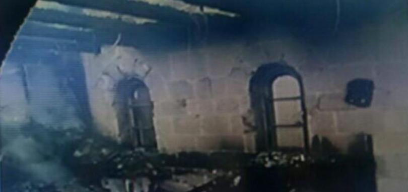 Brandanschlag in Tabgha