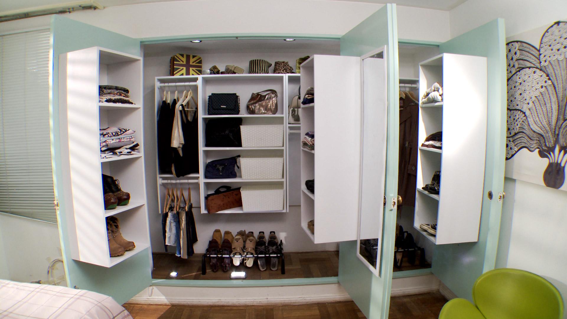 Hgalo Usted Mismo  Cmo hacer de un closet un Walkin