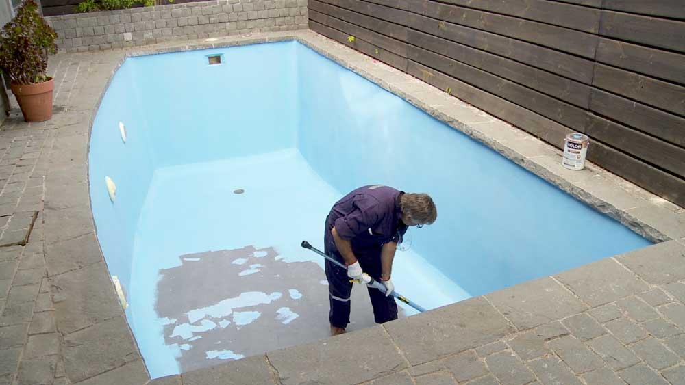 Hgalo Usted Mismo  Cmo reparar y pintar una piscina de