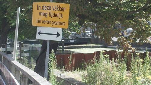 hier parkeren? Hoe bedoelt u?