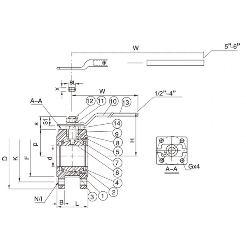 medium resolution of diagram of ball valve